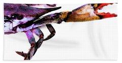 Half Crab - The Right Side Bath Towel