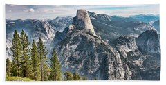 Half Dome From Glacier Point Hand Towel