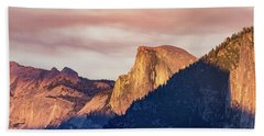 Half Dome In Sunset Hand Towel