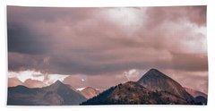 Half Dome Moods  Hand Towel by Chuck Kuhn