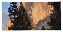 Half Dome Sunset Bath Towel