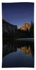 Half Dome, Twilight Hand Towel