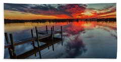 Halifax River Sunset Bath Towel