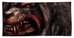 Halloween -  Mad Dog Hand Towel