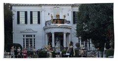 Halloween Decor New Orleans Style Bath Towel