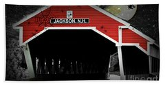 Hand Towel featuring the photograph Halloween In Jackson by Barbara S Nickerson