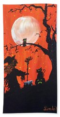 Halloween Bath Towel