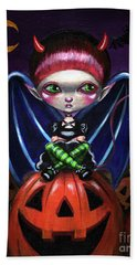 Halloween Little Devil Bath Towel