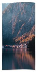 Hallstatt Fall Hand Towel