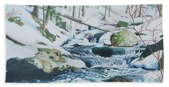 Hamburg Mountain Stream Hand Towel