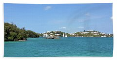 Hamilton Harbour, Bermuda Bath Towel