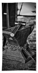 Hammer And Anvil Hand Towel