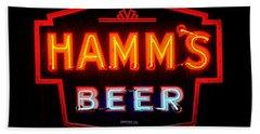 Hamm's Beer Hand Towel