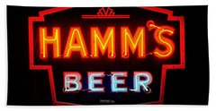Hamm's Beer Bath Towel