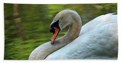 Hammy Swan Hand Towel