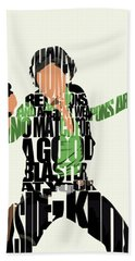Han Solo From Star Wars Hand Towel