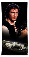 Han Solo Bath Towel