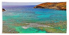 Hanauma Bay Hand Towel