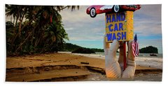 Hand Towel featuring the photograph Hand Wash by Harry Spitz