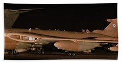 Handley Page Victor K2 Bath Towel by Tim Beach