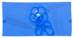 Handwheel - Blue Hand Towel