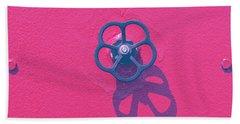 Handwheel - Red Bath Towel