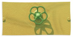 Handwheel - Yellow Hand Towel