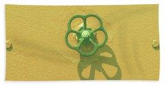 Handwheel - Yellow Bath Towel