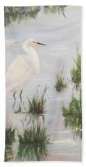 Hangin' At Bolsa Chica Bath Towel
