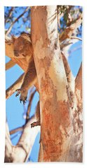 Hand Towel featuring the photograph Hanging Around, Yanchep National Park by Dave Catley