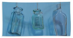 Hanging Bottles Bath Towel