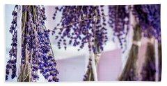 Hanging Lavender Hand Towel