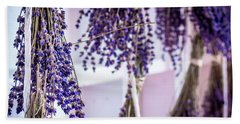 Hanging Lavender Bath Towel