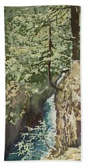 Hanging Out At Opal Creek Bath Towel