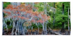 Bath Towel featuring the photograph Hanging Rust by Lana Trussell