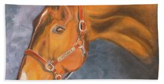Hanoverian Warmblood Sport Horse Hand Towel