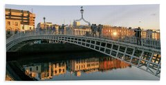 Ha'penny Bridge Bath Towel