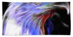 Bath Towel featuring the photograph Happy 4th Of July by Elaine Malott