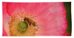 Happy Bee Hand Towel