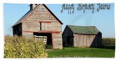 Happy Birthday Taurus Hand Towel