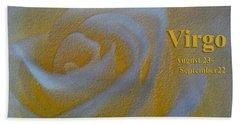 Happy Birthday Virgo Hand Towel