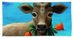 Happy Cow Hand Towel