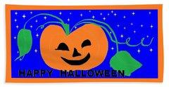 Happy Halloween 1 Bath Towel