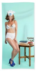 Happy Hanukkah 6 Bath Towel by Lisa Piper
