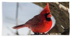 Happy Mister Cardinal Bath Towel