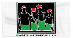 Happy Mother's Day 3 Bath Towel