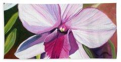 Happy Orchid Bath Towel