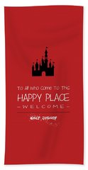 Happy Place Bath Towel