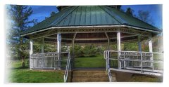 Bath Towel featuring the photograph Happy Valley Gazebo Art  by Thom Zehrfeld