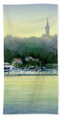 Harbor Master, Port Washington Hand Towel